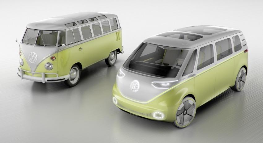 Volkswagen I.D Buzz Concept – jelmaan semula 'Kombi Van' dengan janakuasa elektrik sepenuhnya Image #600549