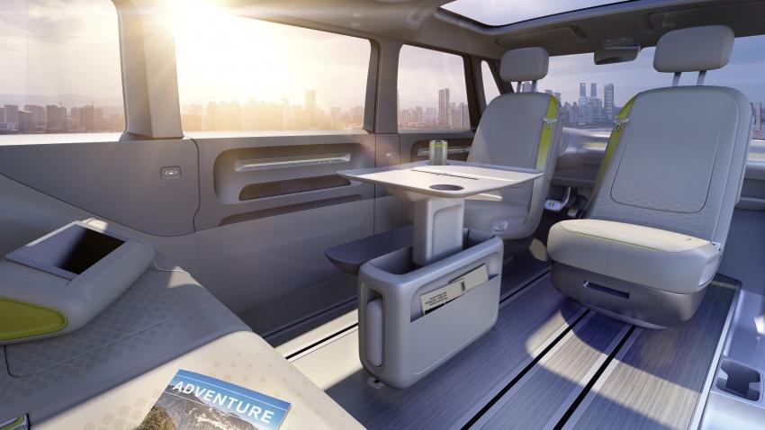 Volkswagen I.D Buzz Concept – jelmaan semula 'Kombi Van' dengan janakuasa elektrik sepenuhnya Image #600548