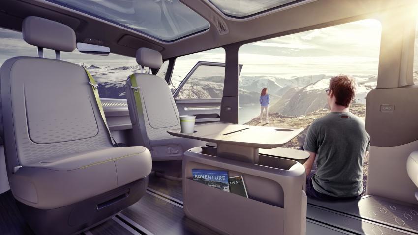 Volkswagen I.D. Buzz EV concept – modern Microbus Image #600167