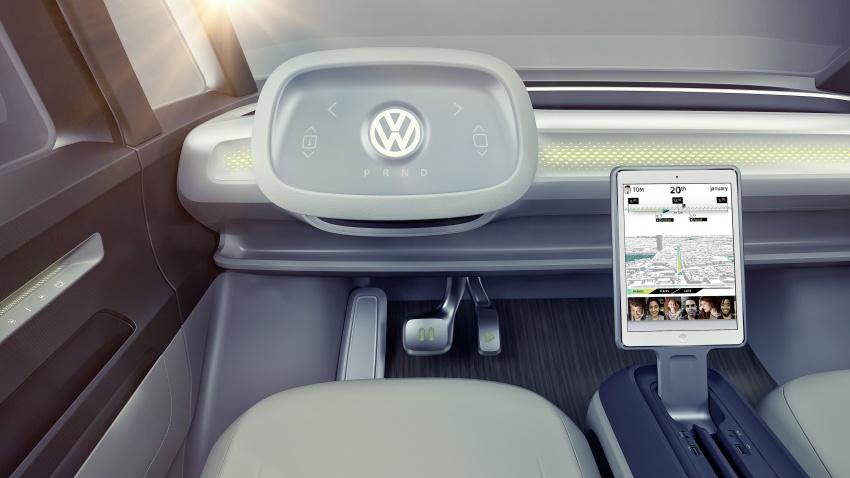 Volkswagen I.D. Buzz EV concept – modern Microbus Image #600169