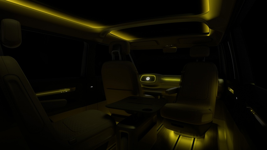 Volkswagen I.D. Buzz EV concept – modern Microbus Image #600171