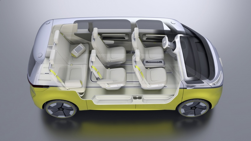 Volkswagen I.D. Buzz EV concept – modern Microbus Image #600172