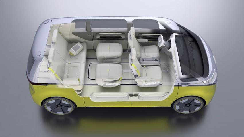 Volkswagen I.D Buzz Concept – jelmaan semula 'Kombi Van' dengan janakuasa elektrik sepenuhnya Image #600537