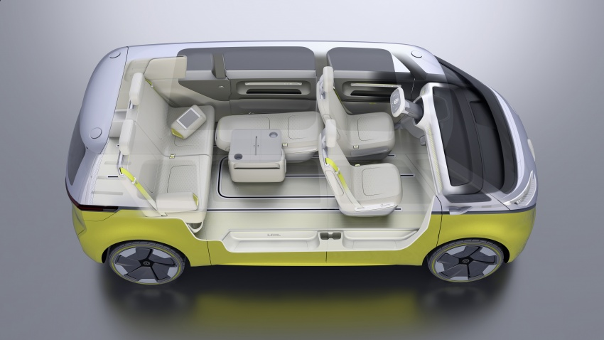Volkswagen I.D. Buzz EV concept – modern Microbus Image #600190