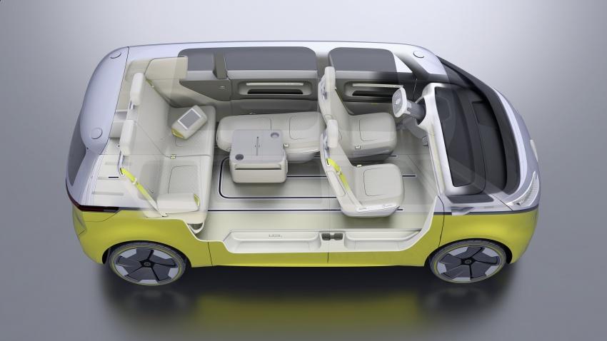 Volkswagen I.D Buzz Concept – jelmaan semula 'Kombi Van' dengan janakuasa elektrik sepenuhnya Image #600536