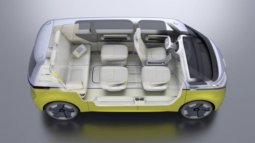Volkswagen I.D. Buzz EV concept – modern Microbus Image #600195