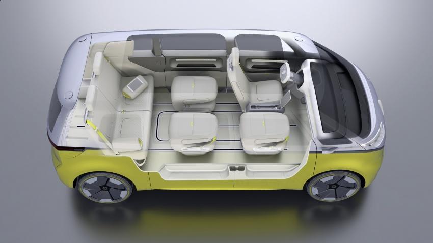 Volkswagen I.D Buzz Concept – jelmaan semula 'Kombi Van' dengan janakuasa elektrik sepenuhnya Image #600535