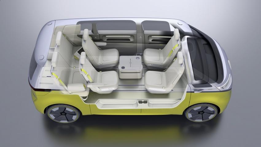Volkswagen I.D Buzz Concept – jelmaan semula 'Kombi Van' dengan janakuasa elektrik sepenuhnya Image #600534