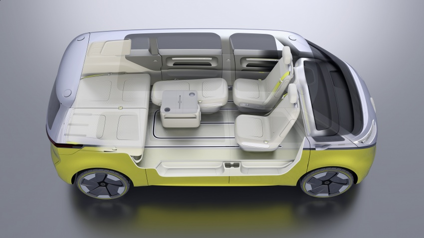 Volkswagen I.D. Buzz EV concept – modern Microbus Image #600202