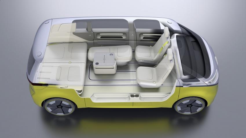 Volkswagen I.D Buzz Concept – jelmaan semula 'Kombi Van' dengan janakuasa elektrik sepenuhnya Image #600533