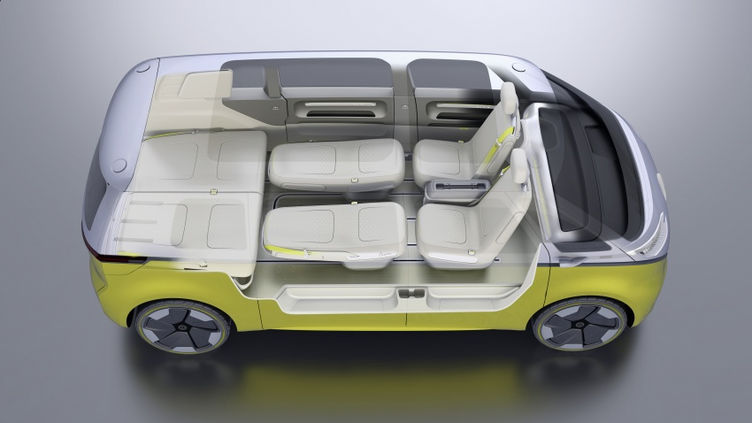 Volkswagen I.D. Buzz EV concept – modern Microbus Image #600203
