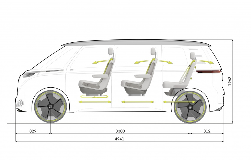 Volkswagen I.D. Buzz EV concept – modern Microbus Image #600205