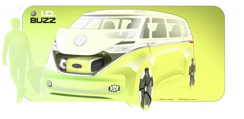 Volkswagen I.D. Buzz EV concept – modern Microbus Image #600271
