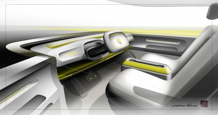 Volkswagen I.D. Buzz EV concept – modern Microbus Image #600300