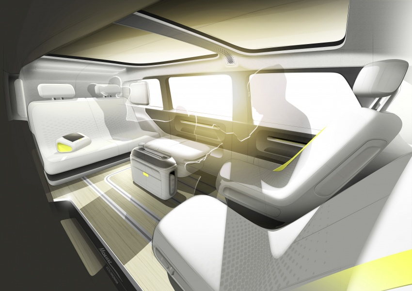 Volkswagen I.D Buzz Concept – jelmaan semula 'Kombi Van' dengan janakuasa elektrik sepenuhnya Image #600521