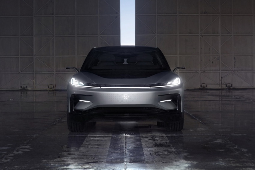 Faraday Future FF 91 EV – 1,050 hp, 0-96 km/h in 2.39 secs, 700 km range, facial recognition entry, 3D lidar Image #598139