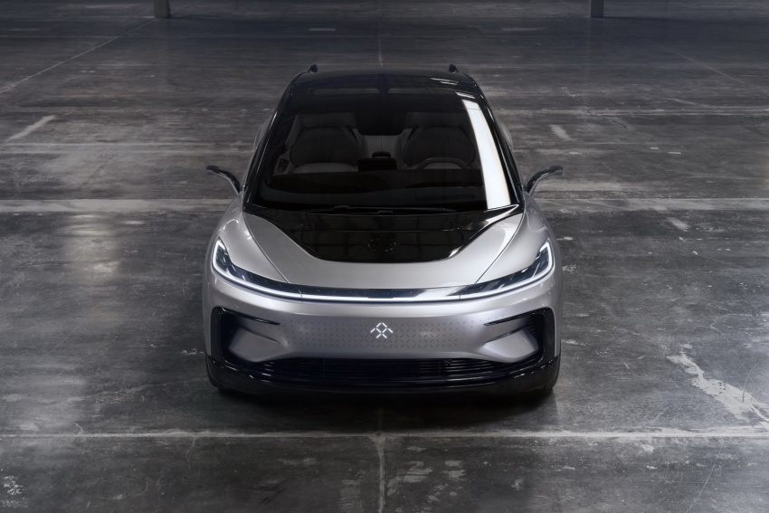Faraday Future FF 91 EV – 1,050 hp, 0-96 km/h in 2.39 secs, 700 km range, facial recognition entry, 3D lidar Image #598142