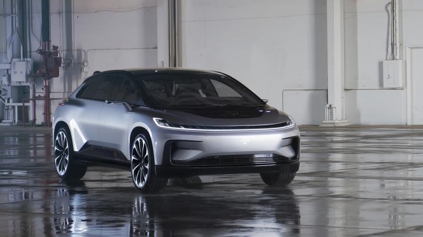 Faraday Future FF 91 EV – 1,050 hp, 0-96 km/h in 2.39 secs, 700 km range, facial recognition entry, 3D lidar Image #598129
