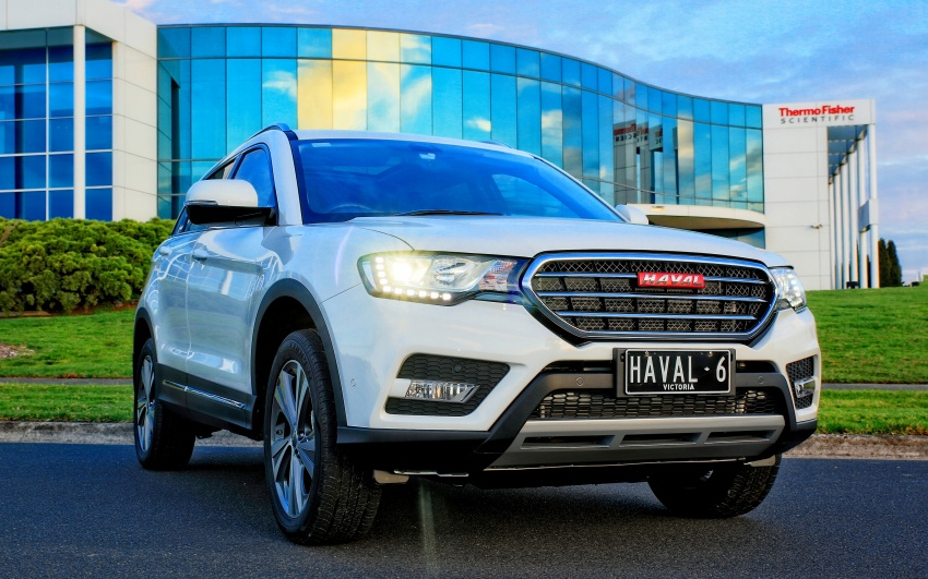 Haval H6 and H9 coming Q3 2017, H2 to go CKD in May Image #605699