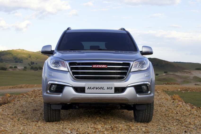 Haval H6 and H9 coming Q3 2017, H2 to go CKD in May Image #605709