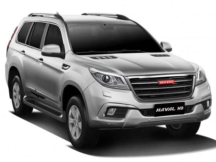 Haval H6 and H9 coming Q3 2017, H2 to go CKD in May Image #605711