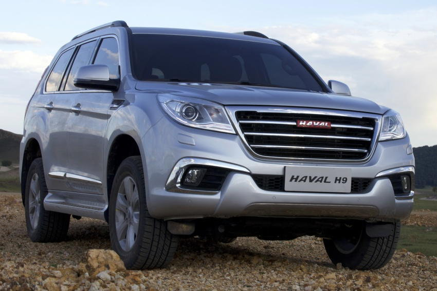 Haval H6 and H9 coming Q3 2017, H2 to go CKD in May Image #605712