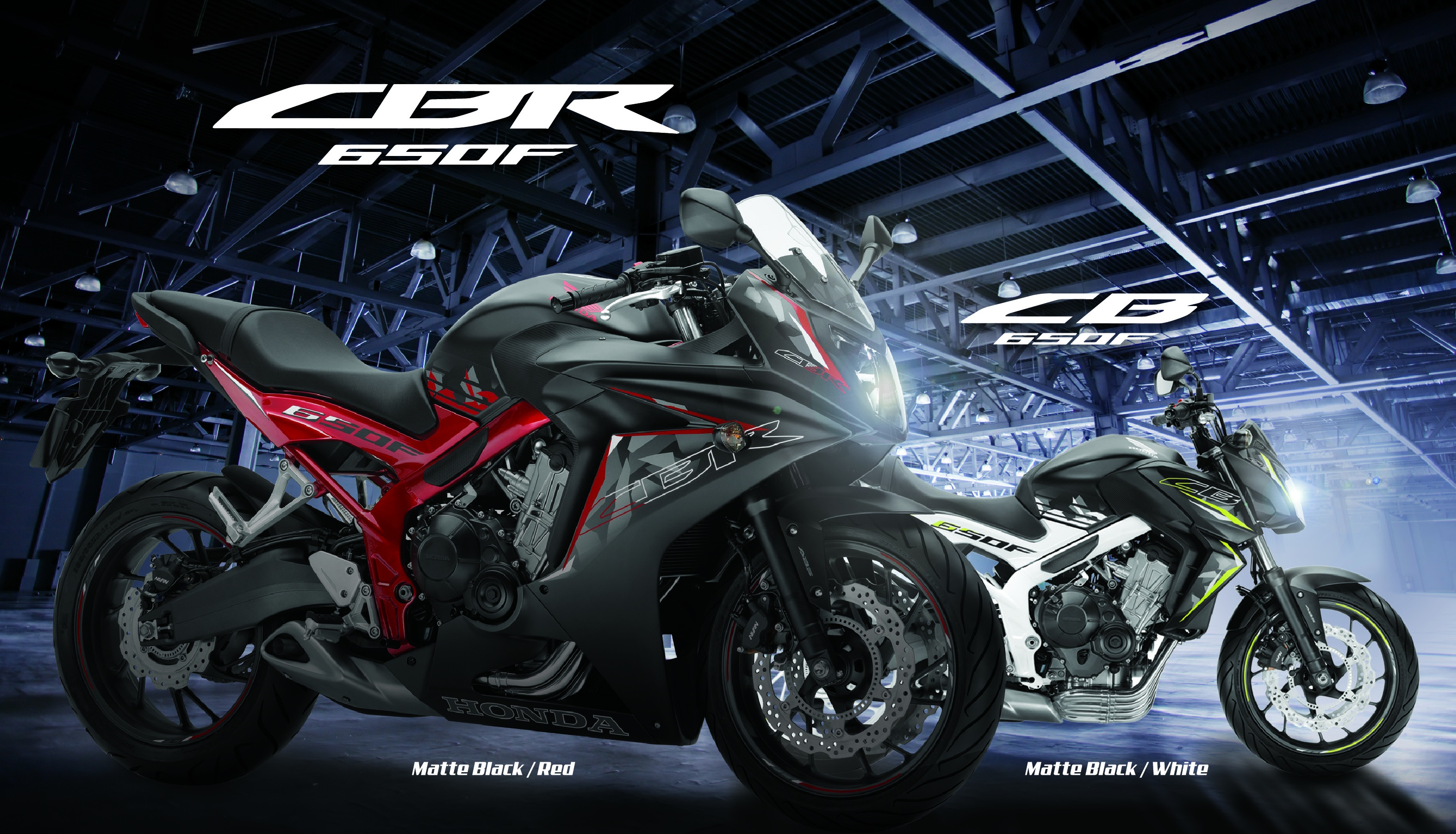 2017 sees honda cb650f naked sports and cbr650f sportsbike