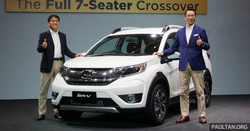 Honda BR-V 1.5L launched in Malaysia, from RM85,800 Image #598534