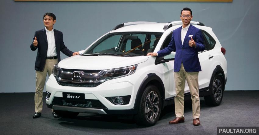 Honda BR-V 1.5L dilancarkan di Malaysia – crossover 7-tempat duduk, 2 varian, harga bermula RM85,800 Image #598537