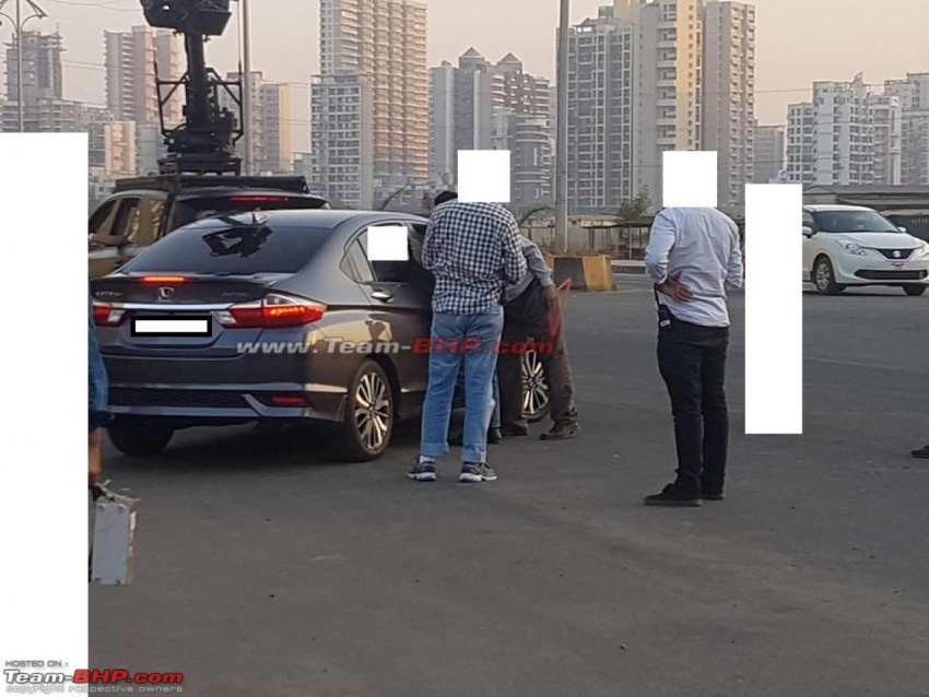 SPYSHOTS: Honda City facelift uncovered in India Image #602089