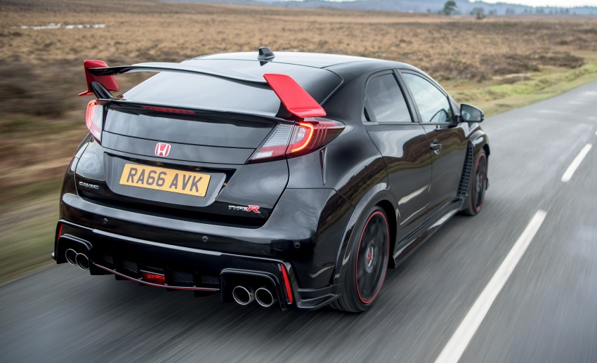 Honda Civic Type R Black Edition launched – only 100 Image #601619