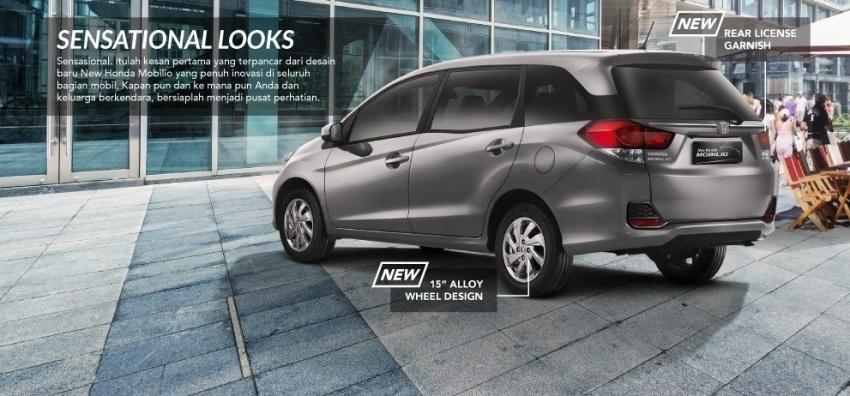 Honda Mobilio facelift dilancarkan di Indonesia – MPV tujuh tempat duduk, harga bermula dari RM63k Image #603203
