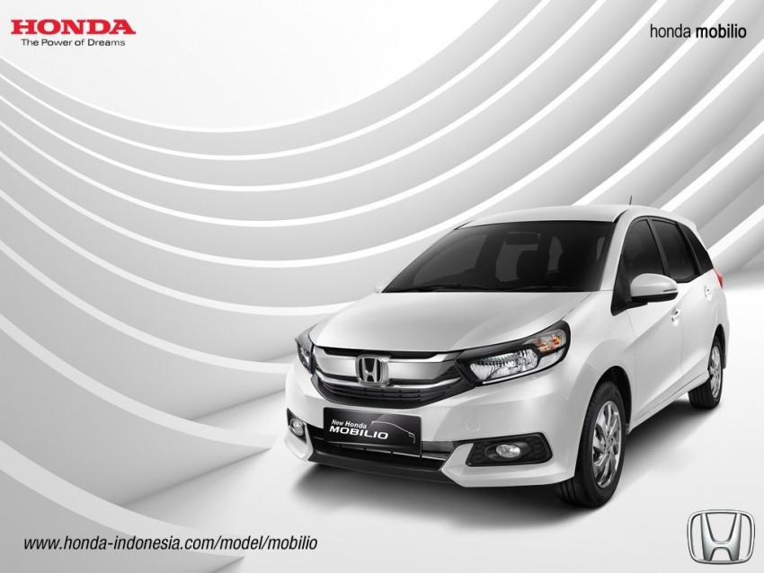 Honda Mobilio facelift dilancarkan di Indonesia – MPV tujuh tempat duduk, harga bermula dari RM63k Image #603211