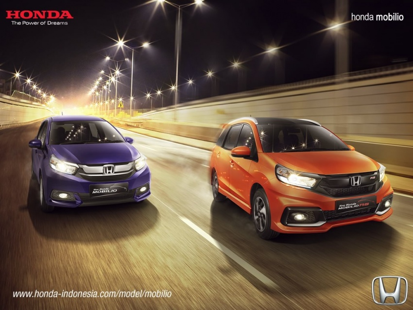 Honda Mobilio MPV facelift launched in Indonesia Image #603005