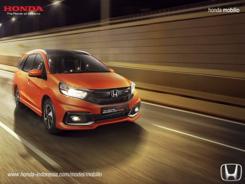 Honda Mobilio MPV facelift launched in Indonesia Image #603006