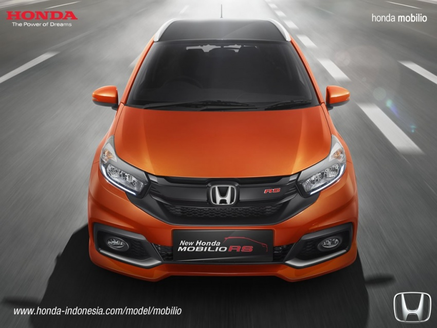 Honda Mobilio MPV facelift launched in Indonesia Image #603011