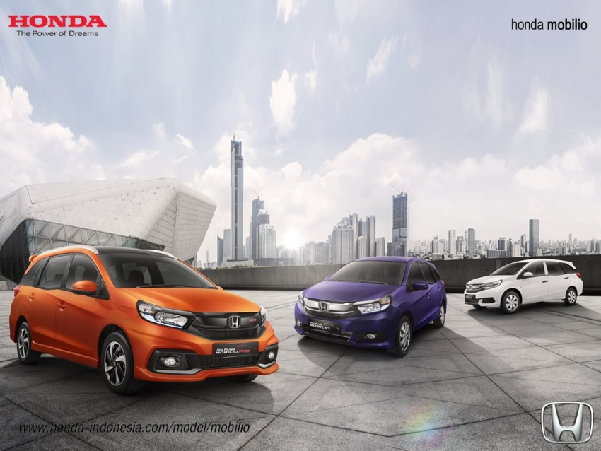 Honda Mobilio MPV facelift launched in Indonesia Image #603012