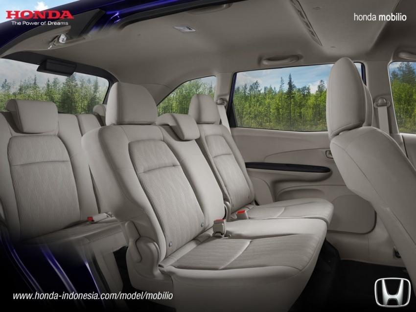 Honda Mobilio facelift dilancarkan di Indonesia – MPV tujuh tempat duduk, harga bermula dari RM63k Image #603207