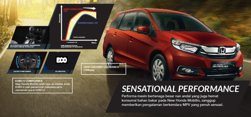Honda Mobilio MPV facelift launched in Indonesia Image #603021