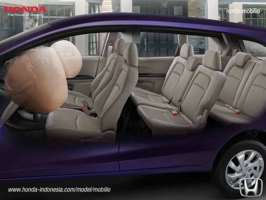 Honda Mobilio MPV facelift launched in Indonesia Image #603022