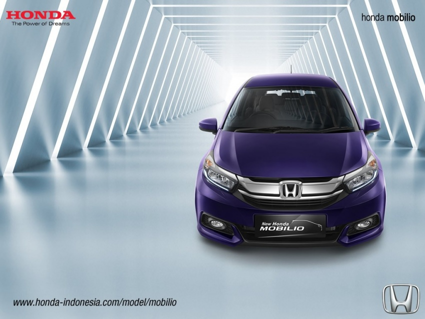 Honda Mobilio MPV facelift launched in Indonesia Image #603023