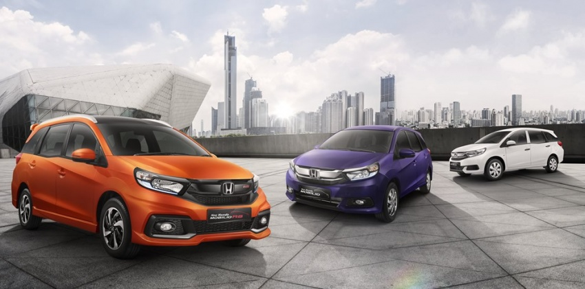 Honda Mobilio MPV facelift launched in Indonesia Image #603024