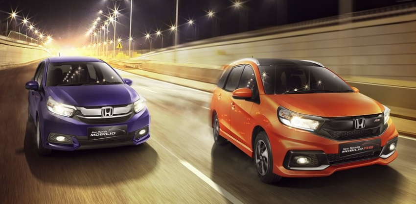 Honda Mobilio MPV facelift launched in Indonesia Image #603025