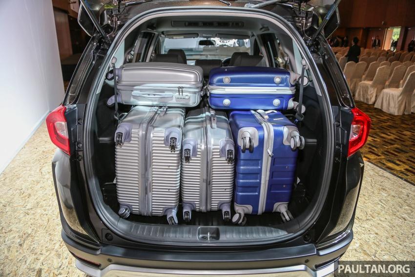 Honda BR-V 1.5L dilancarkan di Malaysia – crossover 7-tempat duduk, 2 varian, harga bermula RM85,800 Image #598749