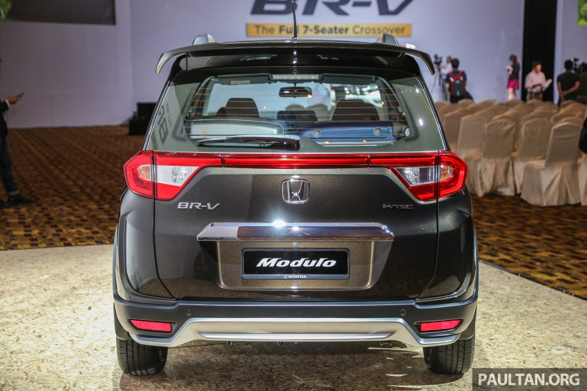 Honda BR-V 1.5L launched in Malaysia, from RM85,800 Image #598753