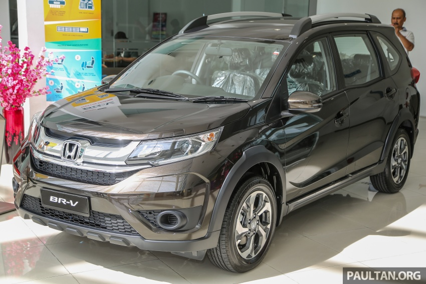 Honda BR-V 1.5L launched in Malaysia, from RM85,800 Image #599399