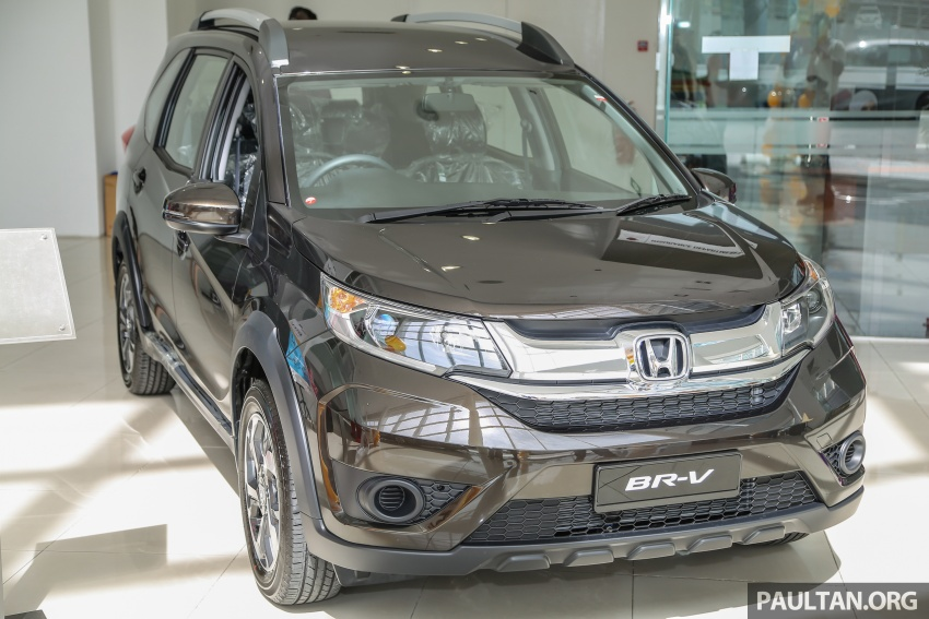 Honda BR-V 1.5L launched in Malaysia, from RM85,800 Image #599400