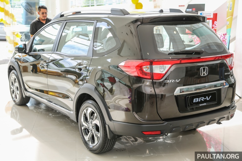 Honda BR-V 1.5L launched in Malaysia, from RM85,800 Image #599401
