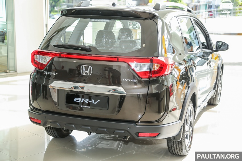 Honda BR-V 1.5L launched in Malaysia, from RM85,800 Image #599402
