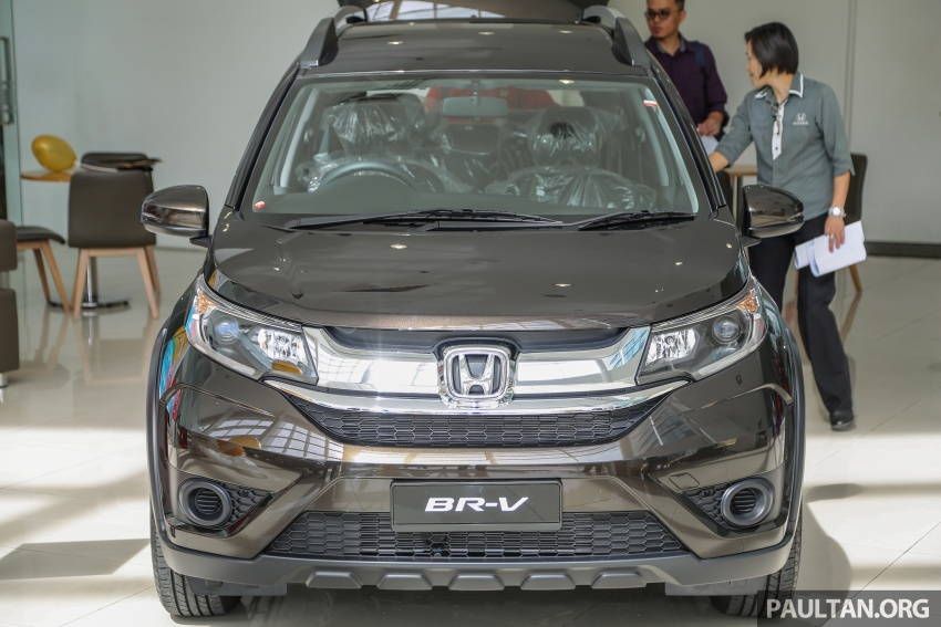 Honda BR-V 1.5L launched in Malaysia, from RM85,800 Image #599403